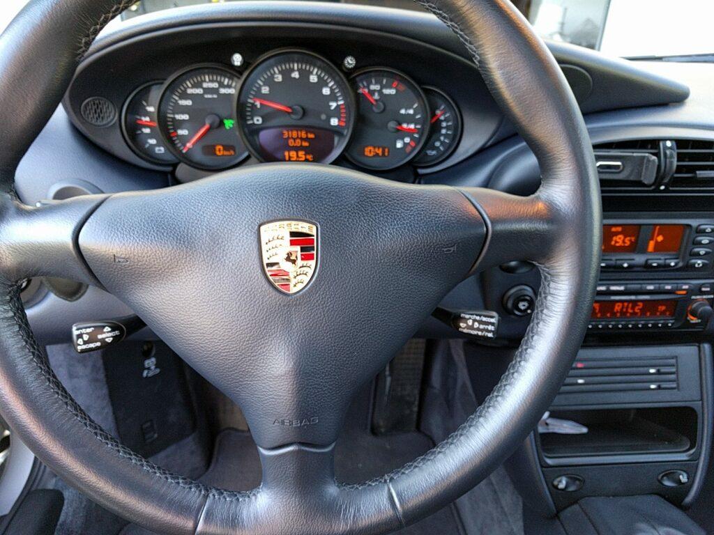 Régulateur de vitesse sur 996