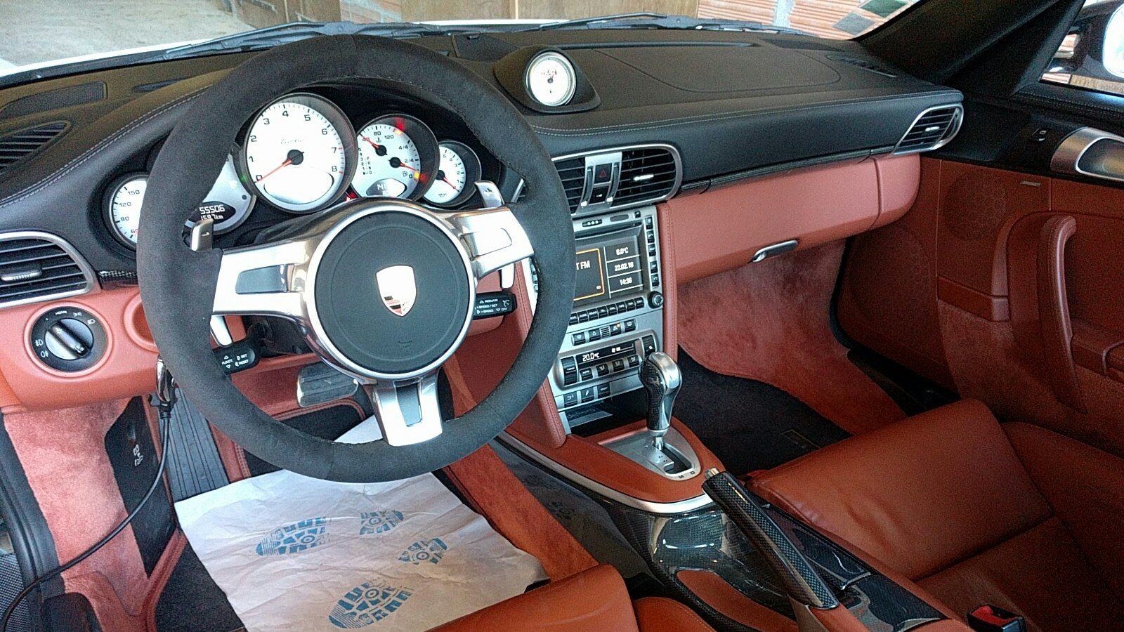 Volant SportDesign sur 997 Turbo Tiptronic S